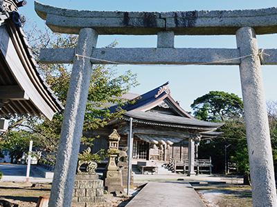 神﨑神社 写真